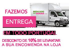 Entregas grátis dentro de Lisboa