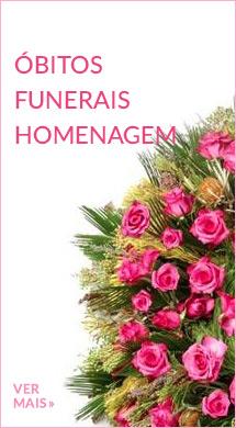 Flores para óbitos e funerais