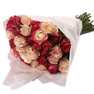 Molho de Rosas Rosa em Vários Tons